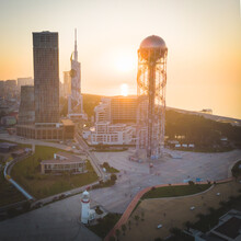 Square Aerial View Of Batumi B...