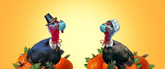 Fototapeta Sztuki walki Healthy Thanksgiving