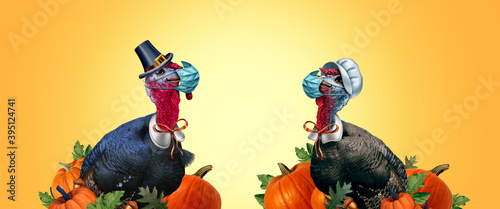 Healthy Thanksgiving Fototapeta