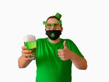 St. Patrick's Day. A Man Weari...