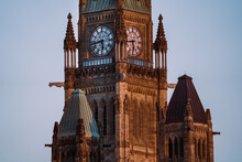 Parliament Hill Peace Tower Cl...
