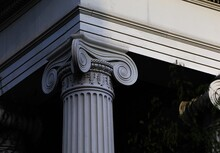 Low Angle View Of Architectural Column