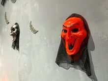 Scary Satan Mask For Halloween...
