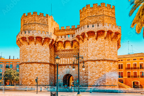 Fotografía Serrans Gate or Serrans Towers is one of the twelve gates ,of th