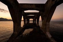 Beautiful Ocean Sunset View Fr...