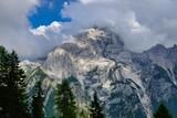 Fototapeta Na sufit - view of mountains, photo as a background , in pasubio mountains, dolomiti, alps, thiene schio vicenza, north italy