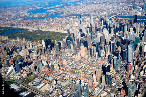 Midtown New York City from above, Hell's Kitchen and Midtown East