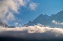 Rocks Behind Clouds In North C...