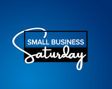 Small Business Saturday In Blue