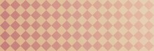 Peach Orange And Gold Diamond Banner Or Website Background.