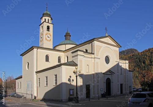 Foto il santuario della Madonna di Pinè a Montagnaga; Trentino