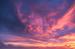 canvas print picture - Dramatic sky, perfect for sky replacement, background or any other application