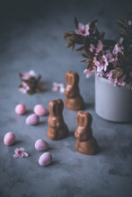Little Chocolate Easter Bunnies