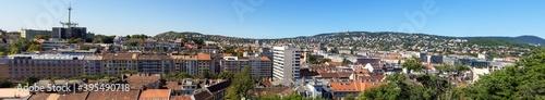 Fotografering Big panorama of Budapest, Hungary