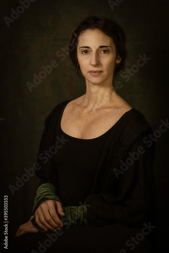 Fotografie, Tablou portrait of a woman
