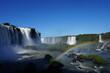 waterfall in rainbow Foz Iguaçu