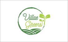 Illustration Vector Graphic Of Microgreen Healthy Inside Logo Design