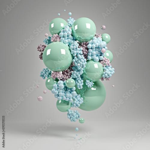 Fotografía abstract 3D illustration