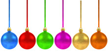 Christmas Balls Various Colors Christmas Decoration
