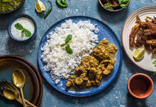 Indian Chicken Coconut Curry