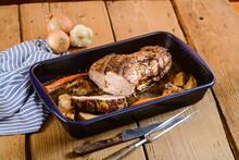 Roast Pork In The Tin