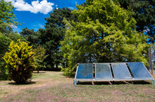 Solar Panels In The Park