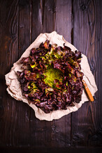 Feuille Du Chene (red Oak Leaf Salad)