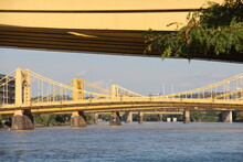Tied-arch Bridge In Fort Pitt, Pittsburgh, Pennsylvania