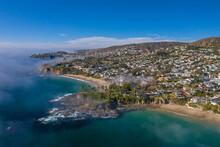 LAGUNA BEACH, CALIFORNIA, UNITED STATES - Nov 17, 2020: Twin Points Estates Development