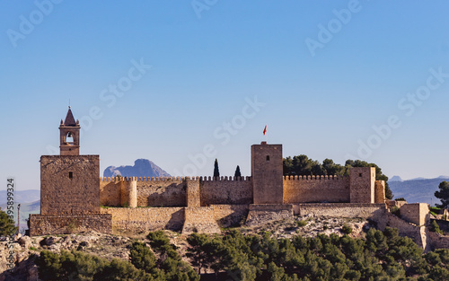 Fotografia The Alcazaba fortress in Antequera, Spain.