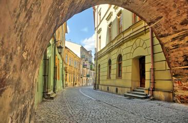 Ulice starego miasta w Lublinie