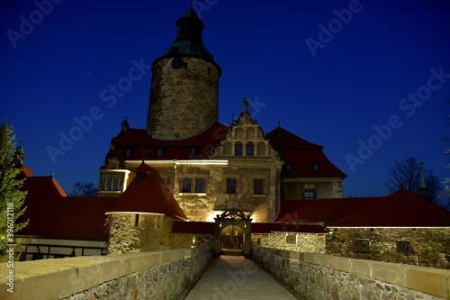 Obraz Zamek Czocha - Leśna na Dolnym Śląsku. Zamki w Polsce   - fototapety do salonu