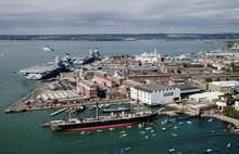 Royal Navy Dockyard, Portsmout...