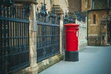 Red Post Box London