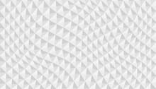 Ondas De Diamantes Sobre Fondo Blanco
