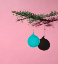 Minimal Colorful Christmas Ornament