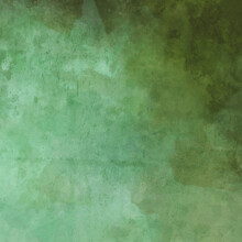 Green Background Texture With Old Dirty Grunge Paint Spatter In Distressed Vintage Textured Watercolor Painting