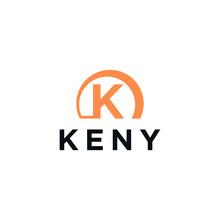 K, Keny Logo Vector Templates Symbols