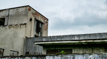 Old Industrial Building In Decay