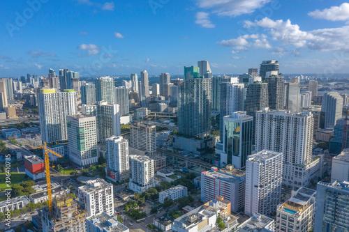 Fotografía Skyline Near Brickell Avenue and Downtown Miami