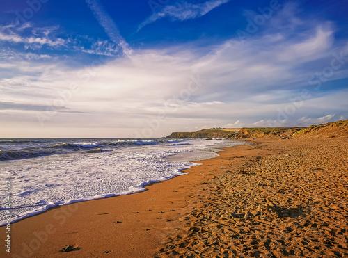 Cuadros en Lienzo Widemouth Bay, Cornwall