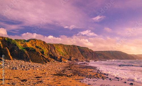 Obraz na plátně Widemouth Bay, Cornwall