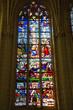 Montresor; France - july 12 2020 : the collegiate church