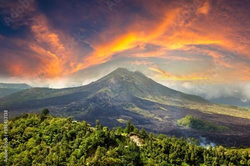 Fotografia Volcano Batur on Bali