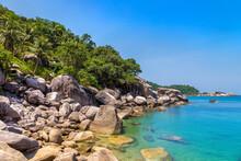 Ao Hin Wong Beach At Koh Tao Island