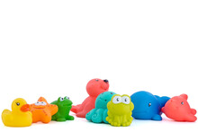 Rubber Animals To Use In The Bathtub