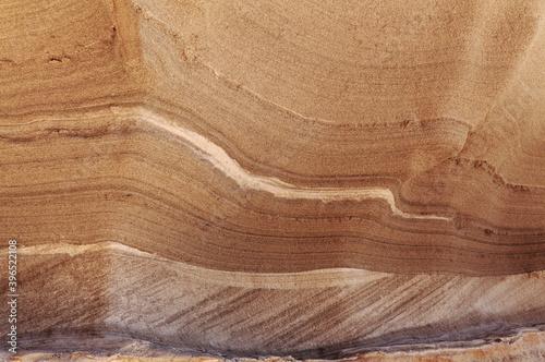 Fotografía Gran Canaria, amazing sand stone erosion figures in ravines on Punta de las Aren