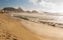 Ocean Surf On The Beach Of Cop...