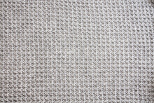 Grey Knitted Wool Texture Can Use As Background.