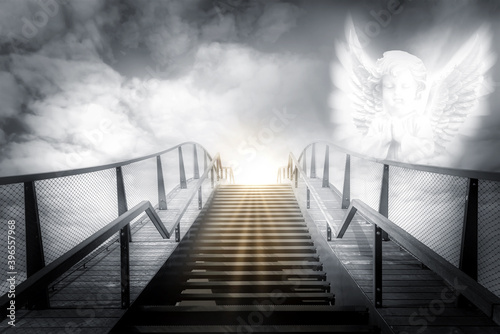 Fotomural The stairs to heaven